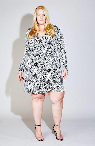 Great Twist Front Print Dress