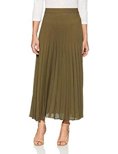Ella Moon Long Pleated Skirt