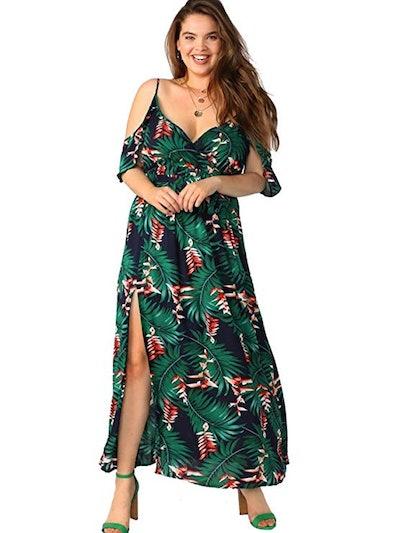 Milumia Plus Size Maxi Dress