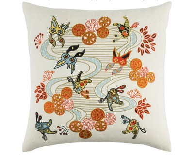 Kismet Chinese River Throw Pillow