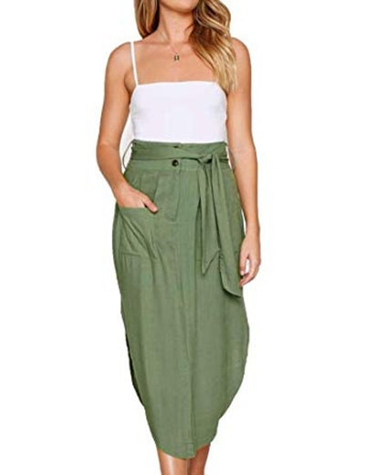 Relipop Belted Skirt