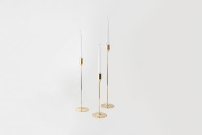 Skultuna Brass Candlesticks (large)