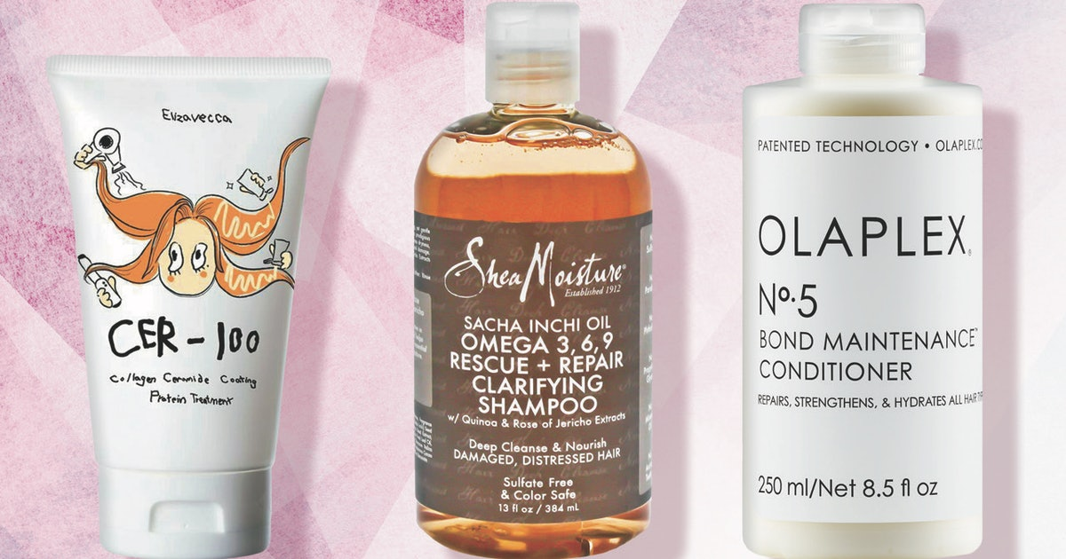 The Best Shampoos & Conditioners For Damaged Hair