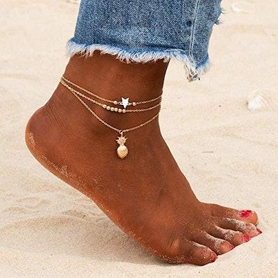Fesciory Adjustable Anklet
