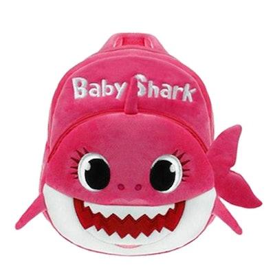 Plush Baby Shark Backpack