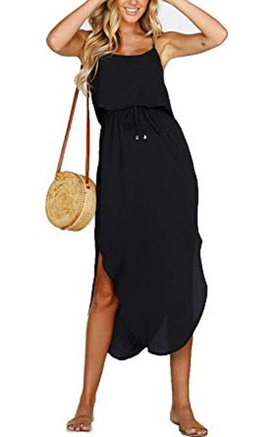 MISSLOOK Spaghetti Strap Dress