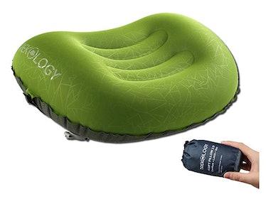 Trekology Ultralight Inflatable Camping Travel Pillow