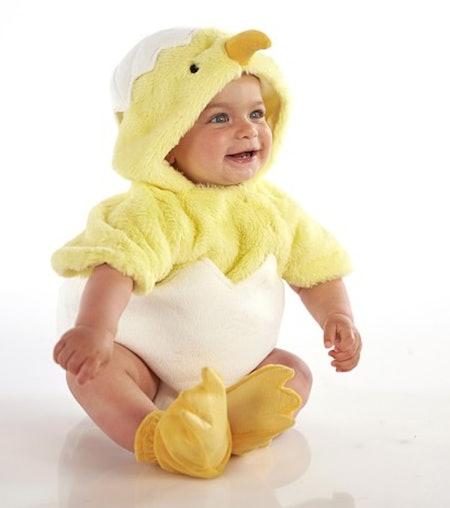 Baby Egg Chick Costume