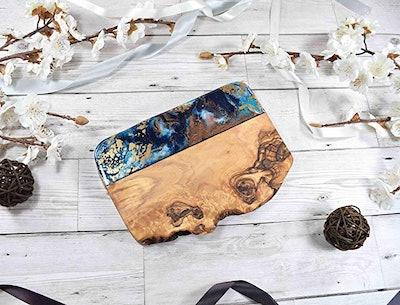 Resin Wood Art - Olive Wood Board