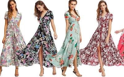 Milumia Button-Up Maxi Dress