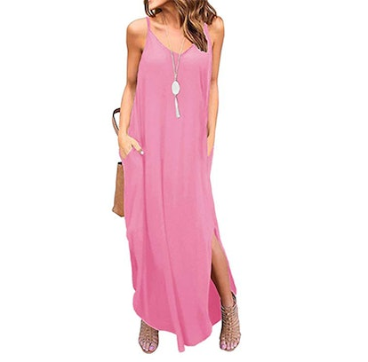 Grecerelle Women's Summer Casual Loose Dress Beach Cover Up