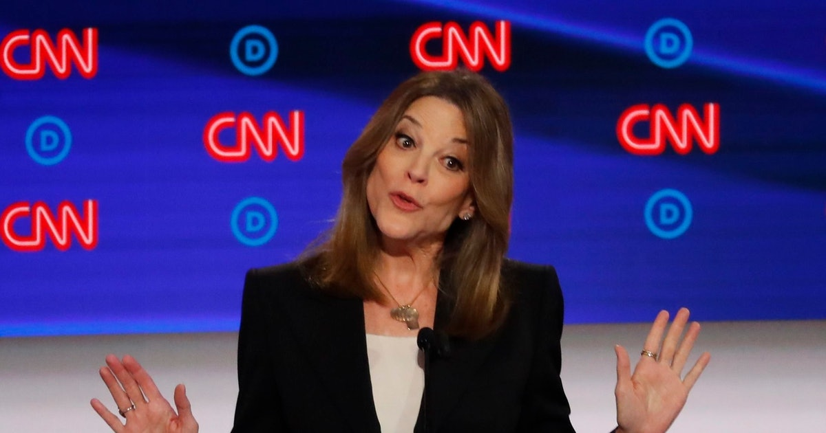These Tweets About Marianne Williamson At The July 30 Debate Have Everyone Imagining The Possibilities