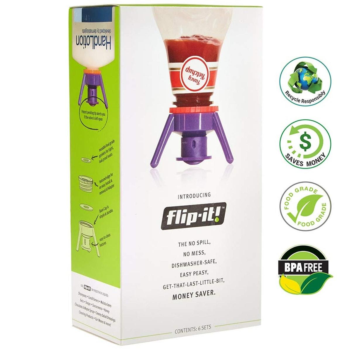 Flip-It FLSK6 Deluxe Bottle Emptying Kit