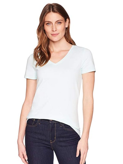 Amazon Essentials Women's Classic Fit Short-Sleeve T-Shirt (2 Pack)