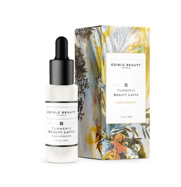 EDIBLE BEAUTY Turmeric Beauty Latte Serum Clear and Brighten