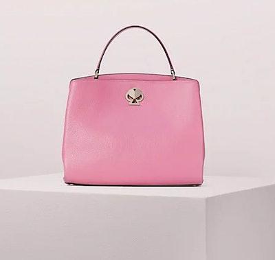 Romy Medium Satchel - Blustery Pink