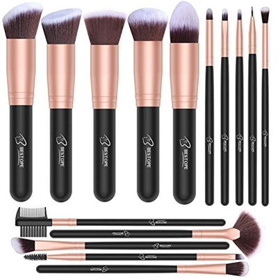 Bestope Makeup Brushes (16 Pieces)