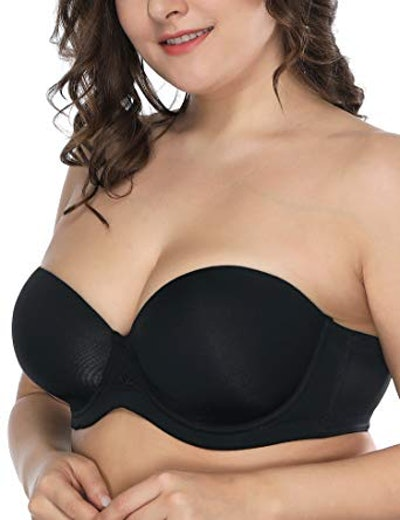 Deyllo Women's Strapless Bra