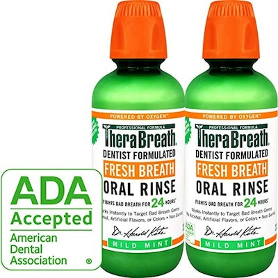 TheraBreath Fresh Breath Oral Rinse (Pack of 2)