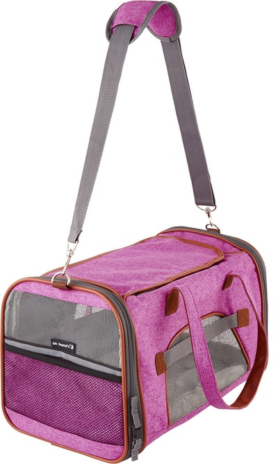 Click to open expanded view          PrevNext Mr. Peanut's Gold Series Airline-Approved Soft-Sided Dog & Cat Carrier