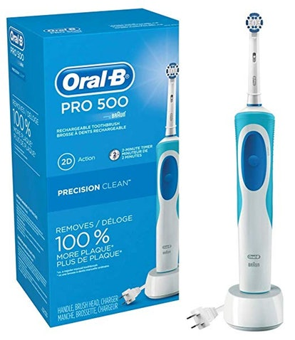 Oral-B Pro 500 Electric Power Rechargeable Toothbrush