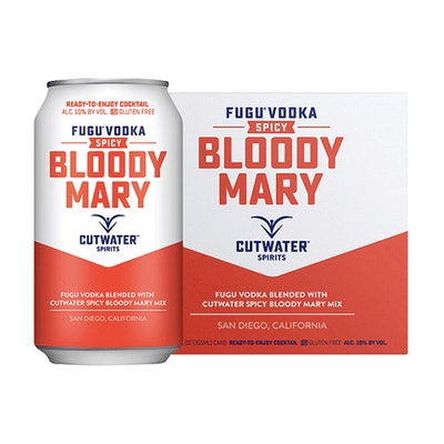 Cutwater Spicy Bloody Mary (4-Pack)