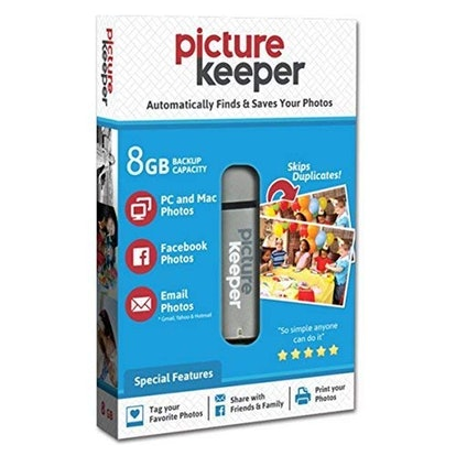 Picture Keeper 8 GB Portable Flash Drive