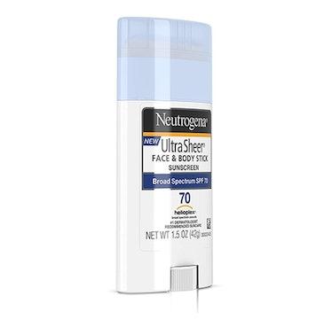 Neutrogena Ultra Sheer Non-Greasy Sunscreen Stick SPF 70