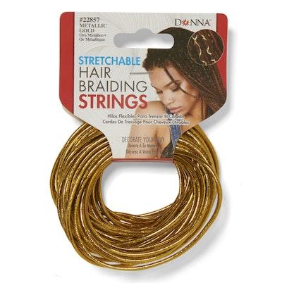 Stretchable Hair Braiding Strings