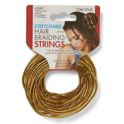 Stretchable Hair Braiding Strings