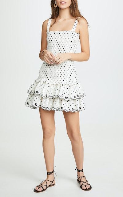 Herbie Smocked Mini Dress