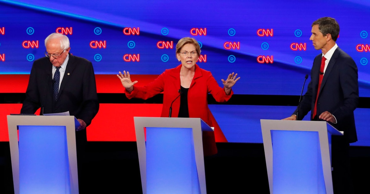 The 2020 Democratic debate's best lines included a show-stopping quote from Elizabeth Warren