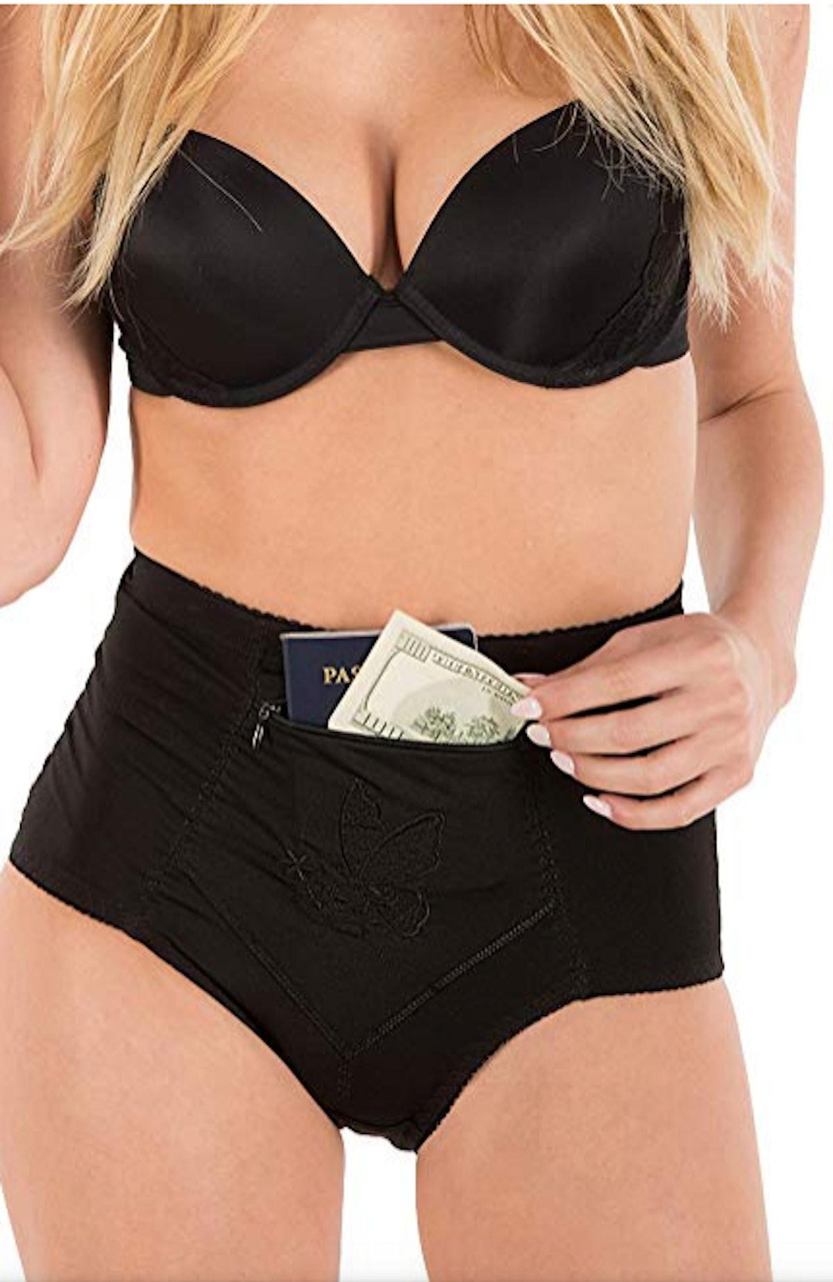 Barbra's Travel Pocket Underwear (6-Pack)
