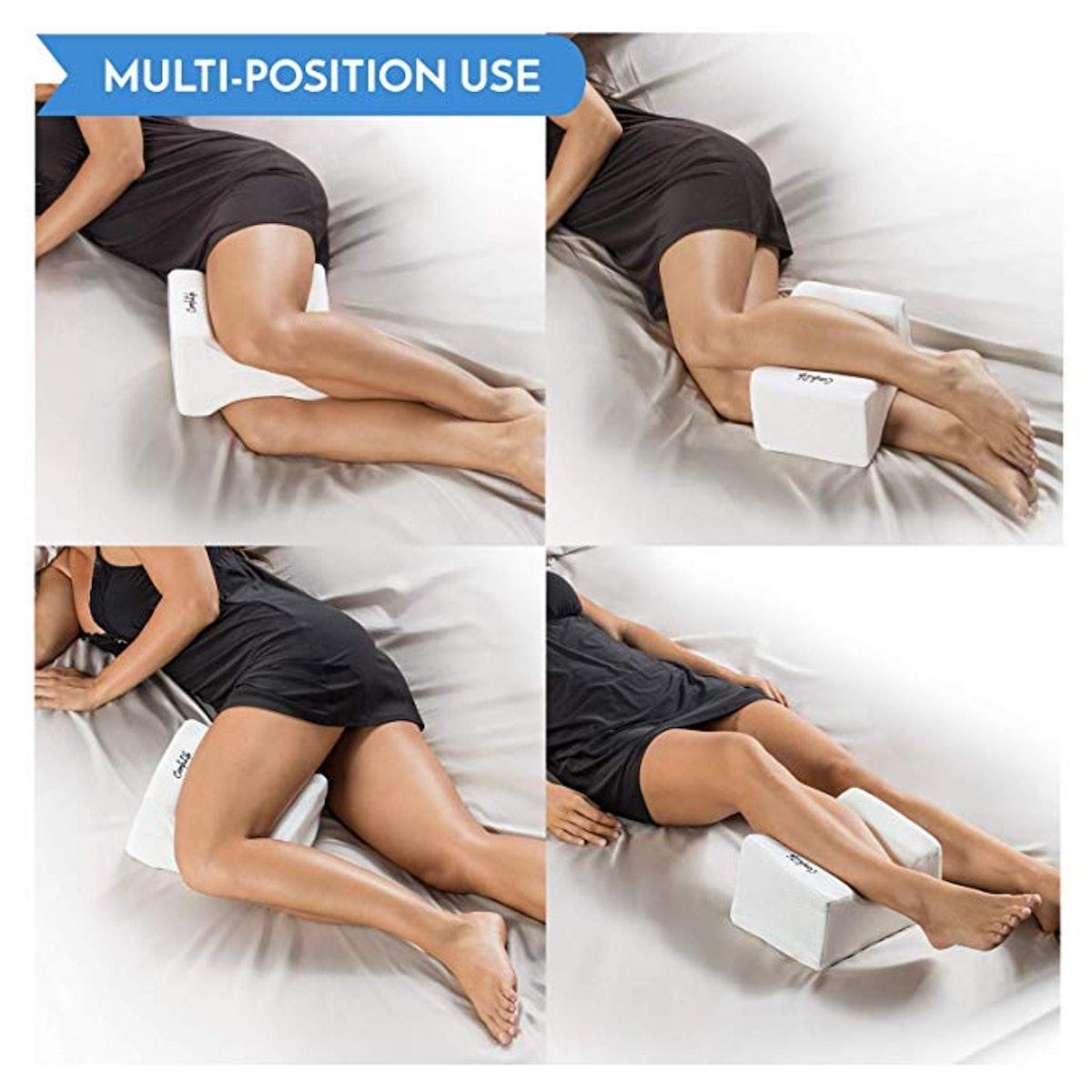 ComfiLife Orthopedic Knee Pillow for Sciatica Relief