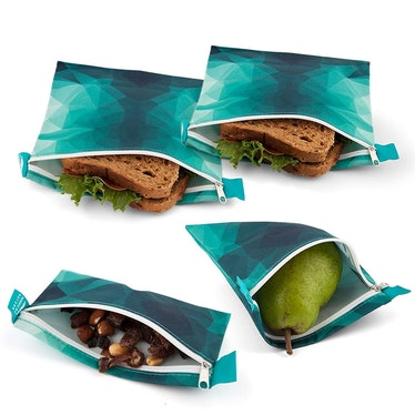 Nordic By Nature Premium Sandwich And Snack Bags (4 Pack)