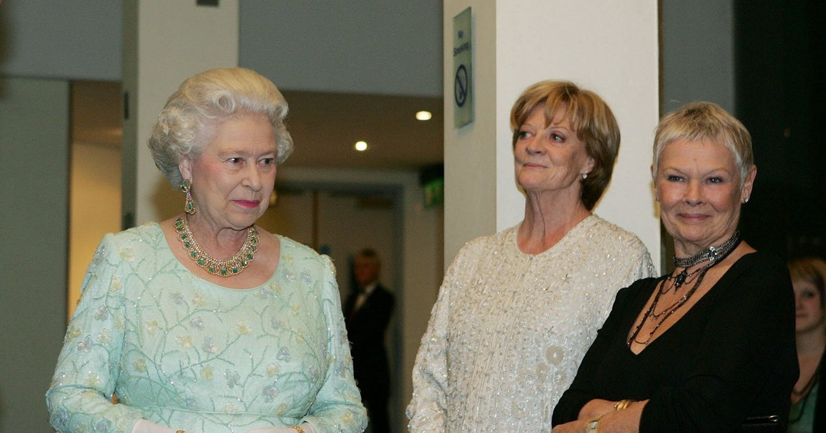 Are Judi Dench & Maggie Smith Friends? All I Want Is An Invite To Tea With These Two