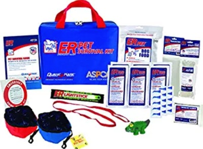 ER Emergency Ready Ultimate Deluxe Pet Survival Kit for Two Dogs