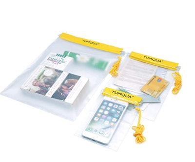YUMQUA Clear Waterproof Bags