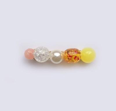 Joya clip in Citrus Pearl