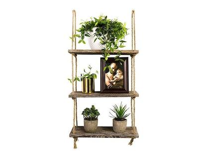 Timeyard Decorative Hanging Shelf