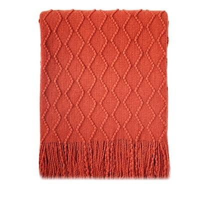 Bourina Textured Throw Blanket
