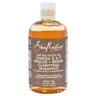 Shea Moisture Sacha Inchi Oil Omega-3-6-9 Rescue & Repair Clarifying Shampoo