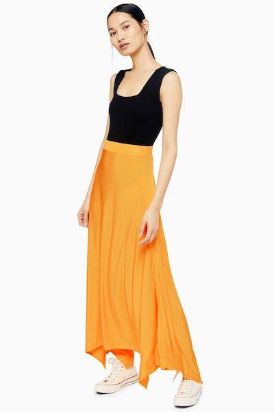 Bias Jersey Skirt