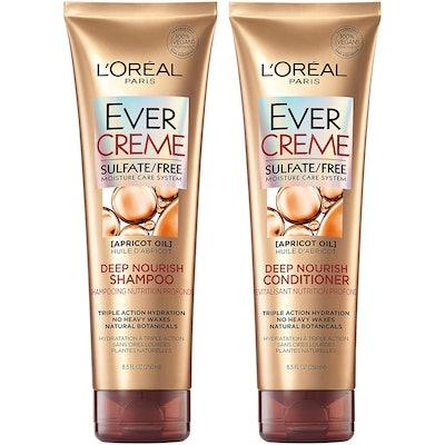 L'Oreal Paris Hair Care EverCreme Sulfate Free Shampoo & Conditioner