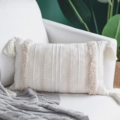 Rectangular Throw Pillow Cover