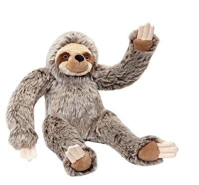 Fluff & Stuff Tico Sloth Plush Dog Toy