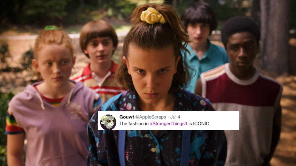 These Tweets About Stranger Things Season 3 S Fashion Are So Here