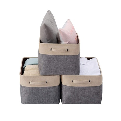 Decomomo Foldable Storage Bins (3 Pack)