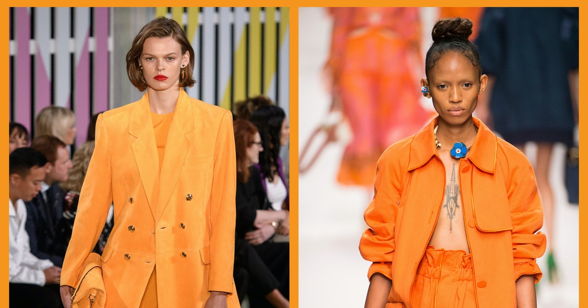 Tangerine Orange Is The Hit Colour Of Summer 2019 & Here's How To Wear It
