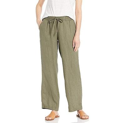 Drawstring Linen Pant